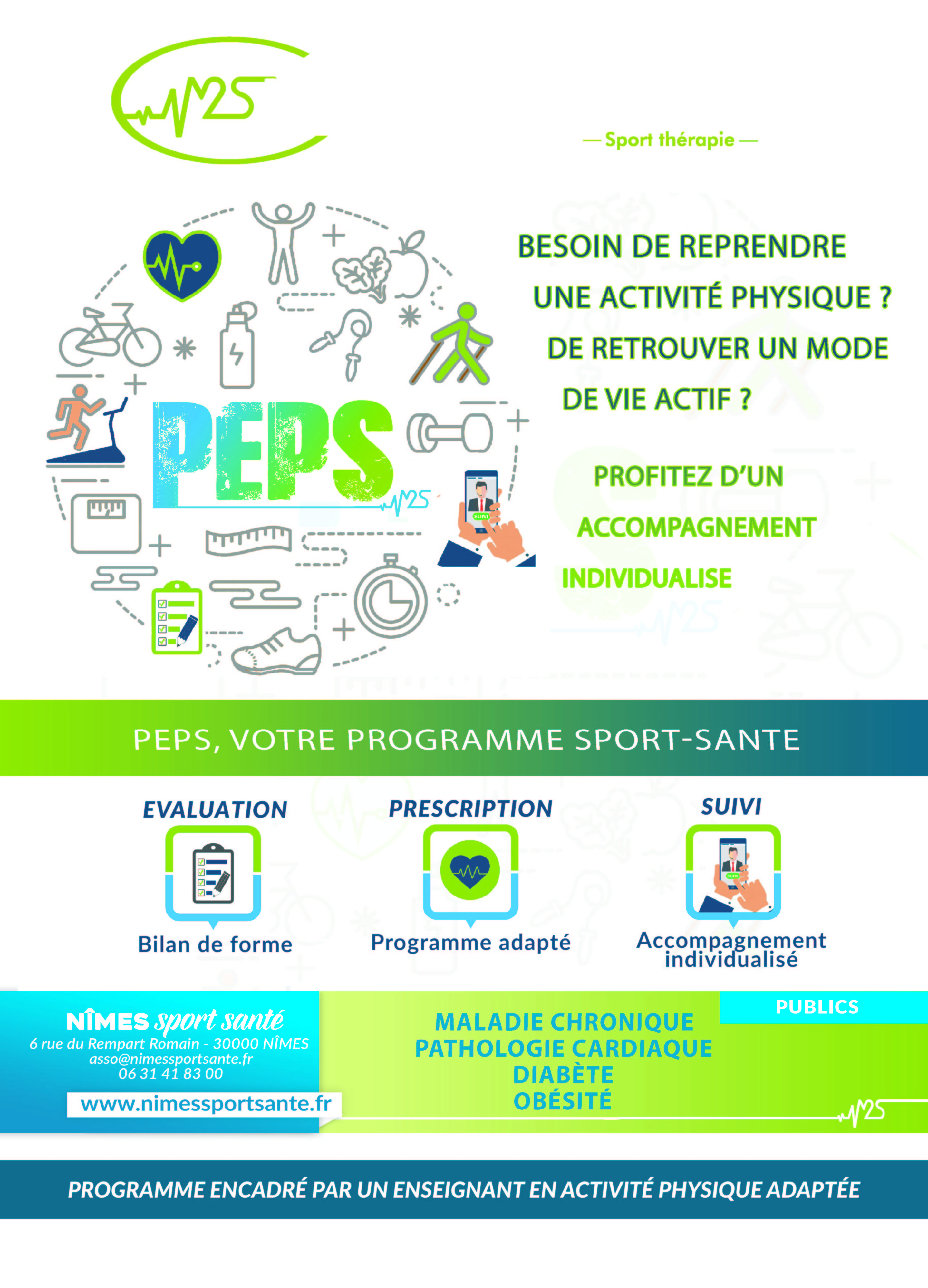 AFFICHE PEPS