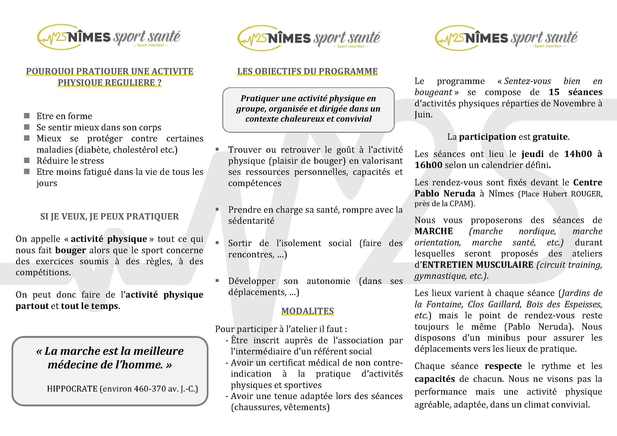 ATELIERS SENTEZ-VOUS BIEN EN BOUGEANT BENEFICIAIRES Page 2
